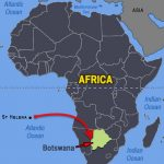St Helena To Botswanna