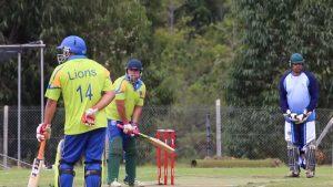 Playing Cricket St Helena